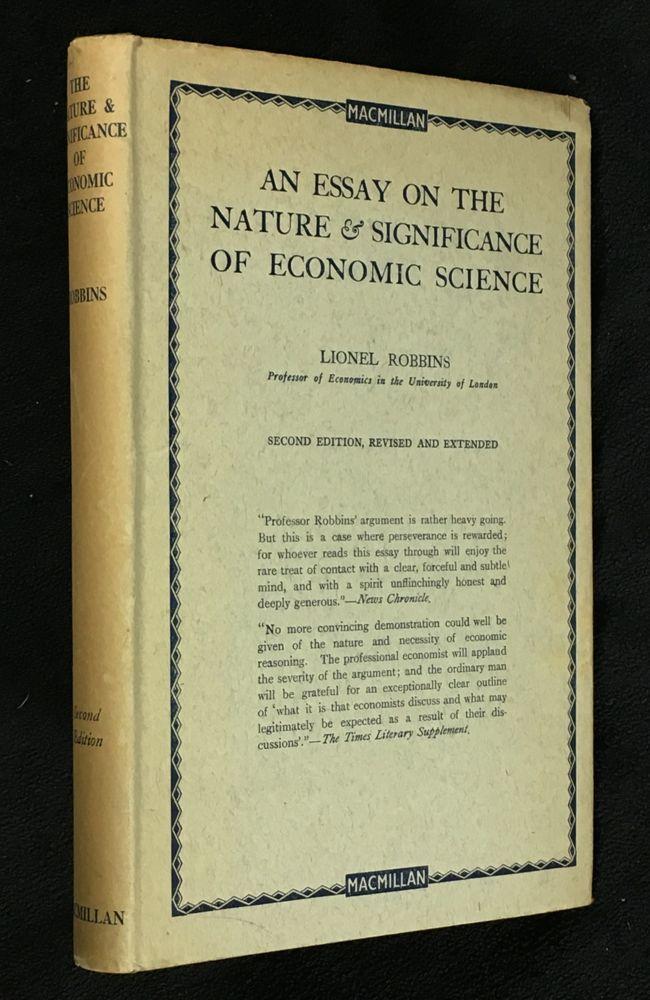 The nature of economics