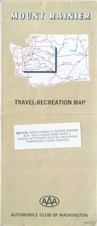 Mount Rainier, travel - recreation map