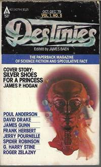 DESTINIES: October, Oct. - December, Dec. 1979: The Paperback Magazine of Science Fiction and...