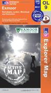 image of Exmoor (OS Explorer Map Active)