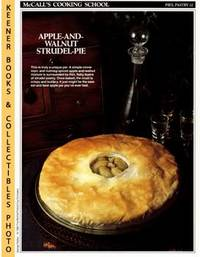 image of McCall's Cooking School Recipe Card: Pies, Pastry 32 - Walnut-Apple Pie :  Replacement McCall's Recipage or Recipe Card For 3-Ring Binders : McCall's  Cooking School Cookbook Series