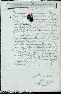 Ferdinand Iii, Holy Roman Emperor. Document Signed. 5 September, 1627.1  Piece. Folio, Docketed.