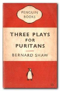 image of Three Plays For Puritans