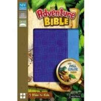 NIV, Adventure Bible, Imitation Leather, Blue, Full Color