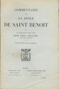 COMMENTAIRE SUR LA REGLE DE by Delatte Dom Paul - Paperback - 1948 - from Libreria MarcoPolo and Biblio.com