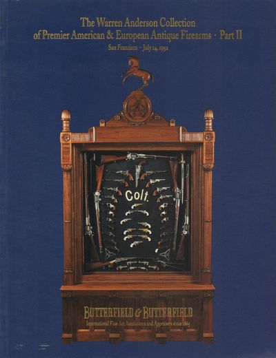 San Francisco, CA: Butterfield & Butterfield, Auctioneers Corp.. Very Good. 1992. Softcover. Pictori...