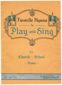 image of FAVORITE HYMNS TO PLAY_SING + SINGING YOUTH FOR CHRIST