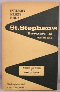 image of St. Stephen's: Literature & Opinions.