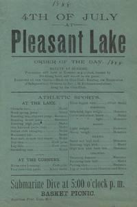 4th of July at Pleasant Lake Broadside