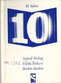 10 JAHRE SIGNAL-VERLAG