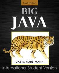 image of Big Java: for Java 7 and 8 (For Java 7 & 8)