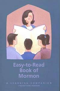 EASY TO READ BOOK OF MORMON - A Learning Companion by Anderson, Lynn Matthews - 2002