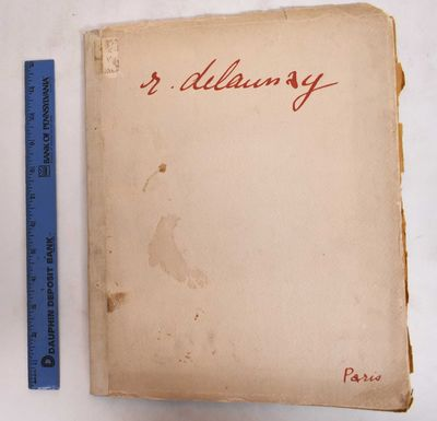 Paris: André Marty, 1912. Softcover. G+/Fair, covers are stained, soiled and chipped. Covers show e...