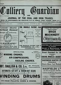 The Colliery Guardian and Journal of the Iron and Coal Trades. August 12th 1927 [No. 3476]