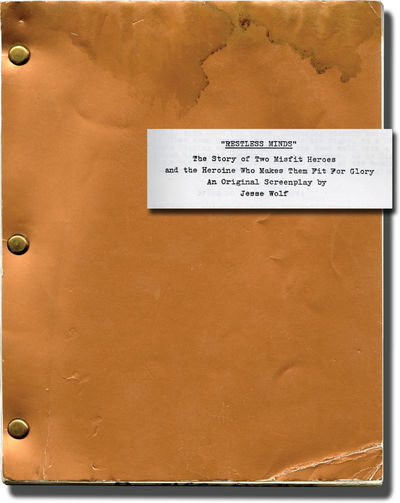 N.p.: N.p., 1985. Draft script for an unproduced film. A depiction of the struggles of two US soldie...