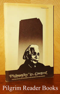 Philosophy in Context; An Experiment in Teaching. Volume 6, 1977.  Philosophy and Science.