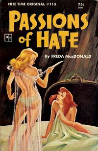 PASSIONS OF HATE: EARLY AND RARE LESBIAN NOVEL
