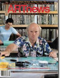 Artnews Vol 79, No 7, September 1980 James Rosenquist (Cover)