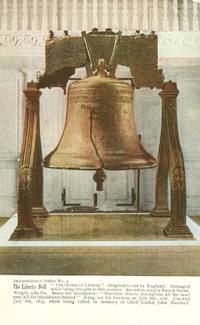The Liberty Bell, Philadelphia, Independence Series No. 4 early 1900s unused Postcard