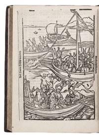Navis stultorum: oft, Der sotten schip.Antwerp, Jan II van Ghelen, 1584. Small 4to. With a...