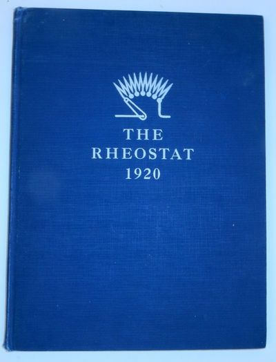 : Bliss Electrical School, 1920. First Edition. Cloth. Very Good. First Edition. 95 pages. 9 x 12 1/...