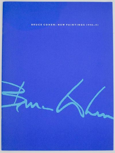 New York: Ruth Siegel Gallery, 1991. First edition. Softcover. Exhibition catalog for a show that ra...