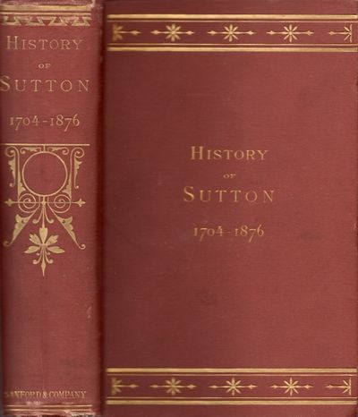 Worcester: Sanford & Company, 1878. First Edition. Hardcover. Fair. Small quarto. 837 pages. Frontis...