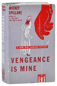 image of VENGEANCE IS MINE - WITH SIGNED BOOKPLATE LAID IN
