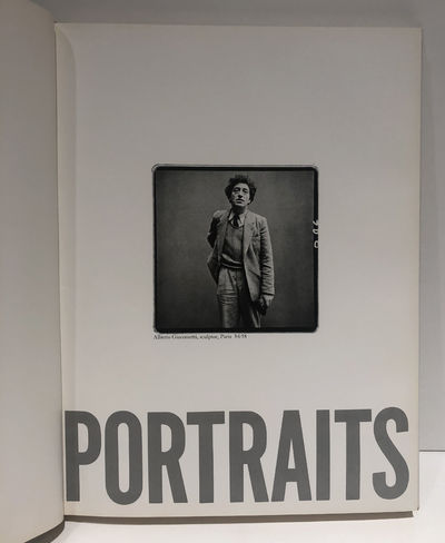 Portraits by Richard Avedon Inscribed...