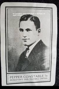 image of Pepper Constable '36 Princeton's 1935 Football Captain.