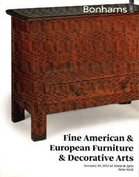 image of Fine American & European Furniture & Decorative Arts, New York, January 19, 2012 (Sale 19530)