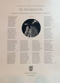 In Memoriam en el Centenario de Chavela Vargas