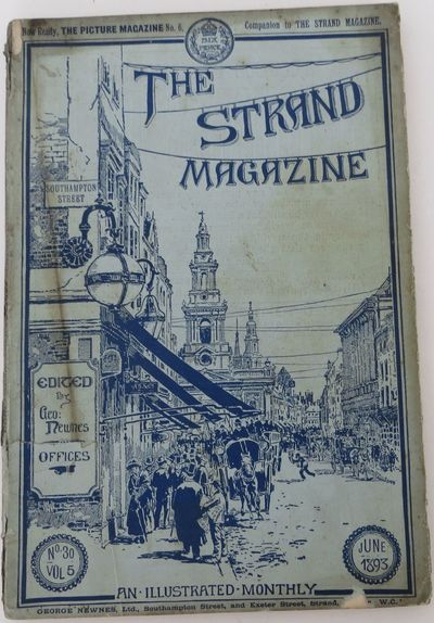 London: The Strand, 1893. first appearance. softcover. good. First appearance of this Sherlock Holme...