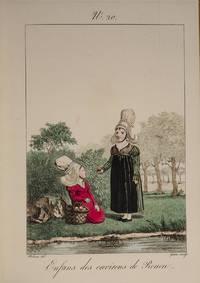 Costumes des femmes du Pays de Caux