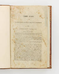 [The Case of the Honorable George Milner Stephen] by  George Milner] [STEPHEN - First Edition - 1840 - from Michael Treloar Antiquarian Booksellers (SKU: 101432)