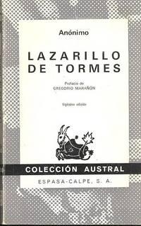 Lazarillo de Tormes ; prefacio de Gregorio Marañón. by 1887-1960  Gregorio - 1973 - from Joseph Valles - Books and Biblio.co.uk