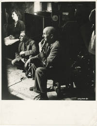 image of The Elusive Pimpernel (Original photograph of Michael Powell, Bill Wall, and Doreen North on the set of the 1950 British film)