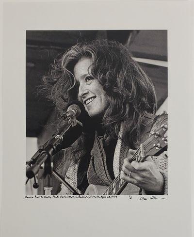 Boulder, 1979. Limited edition (1 of 6). Description: Bonnie Raitt at the Rocky Flats Demonstration ...