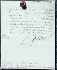 Friedrich Wilhelm I I King Of Prussia. 1 Piece. Letter Signed. Potsdam,  1791.