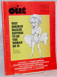 image of Out; preview issue, December 1973: Why Norman Mailer Refuses to Be the Woman He Is