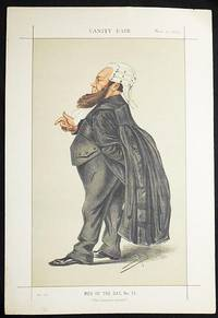 """""""The Claimant's Counsel"""": Dr. Edward Vaughan Kenealy (Men of the Day, no. 71) -- Vanity Fair, Nov. 1, 1873"""