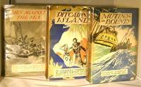 A Complete Set of All Three Bounty First Editions: Mutiny on the Bounty, Pitcairn's Island, and Men Against the Sea