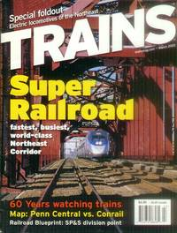 image of Trains Magazine (2 Issues - March and April 2003)