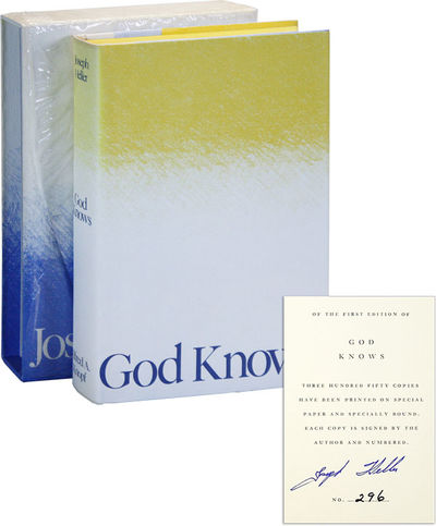 New York: Alfred A. Knopf, 1984. First Edition. Limited Issue, one of 350 numbered copies signed by ...