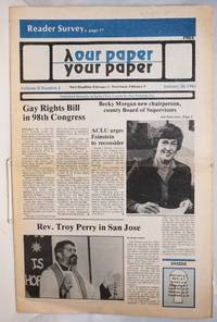 Our Paper, Your Paper; the gay family paper of the Santa Clara Valley; vol. 2, #2, January 26, 1983 by  Rosalie editor Nichols - First Edition - 1983 - from Bolerium Books Inc., ABAA/ILAB (SKU: 194137)