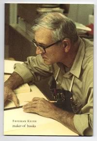 Freeman Keith: Maker of Books