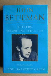 image of John Betjeman Letters. Volume One: 1926 to 1951.