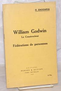 image of William Godwin, le constructeur: Féderations de personnes