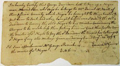 Hampshire County, VA, 1778. 4-1/2