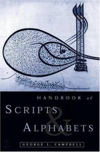 Handbook of Scripts and Alphabets by George L. Campbell  - Paperback  - 1997  - from ThriftBooks (SKU: G0415137152I2N00)